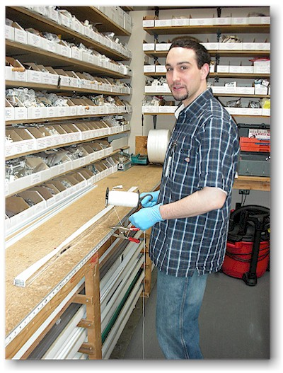 Mark Vican (Jan's son) worked in our Repair Department from March 2010 through December 2012.