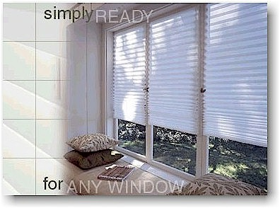 Need to cover those windows right away? While you wait for your blinds or shades to be custom-made for you, install some Redi-Shades. They are also a great solution for covering your windows during a remodeling project or while painting